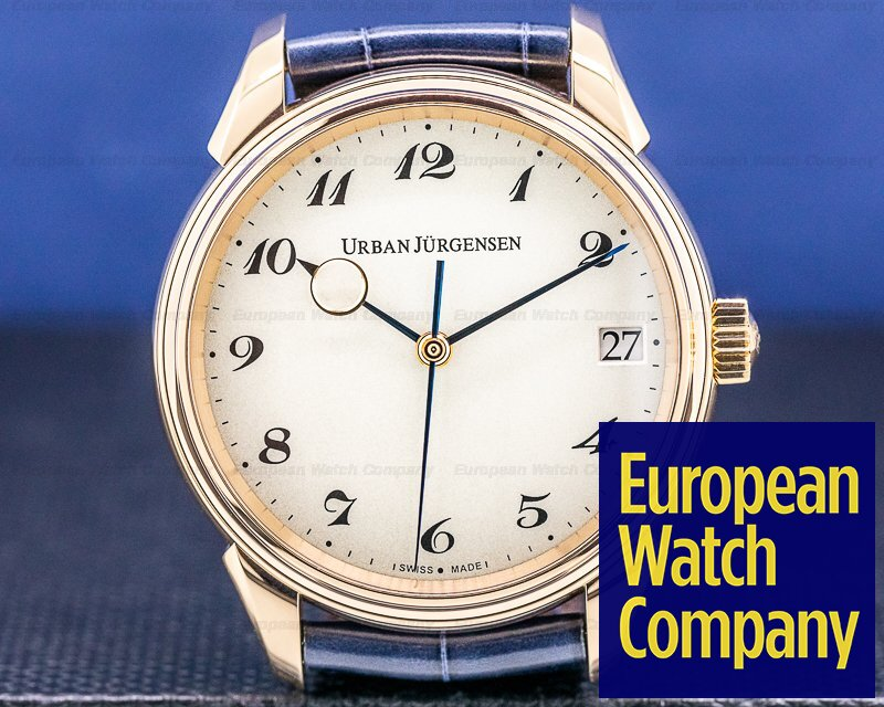 Urban Jurgensen 2240 RG Jules Collection 2240RG 18k Rose Gold / Breguet Numerals