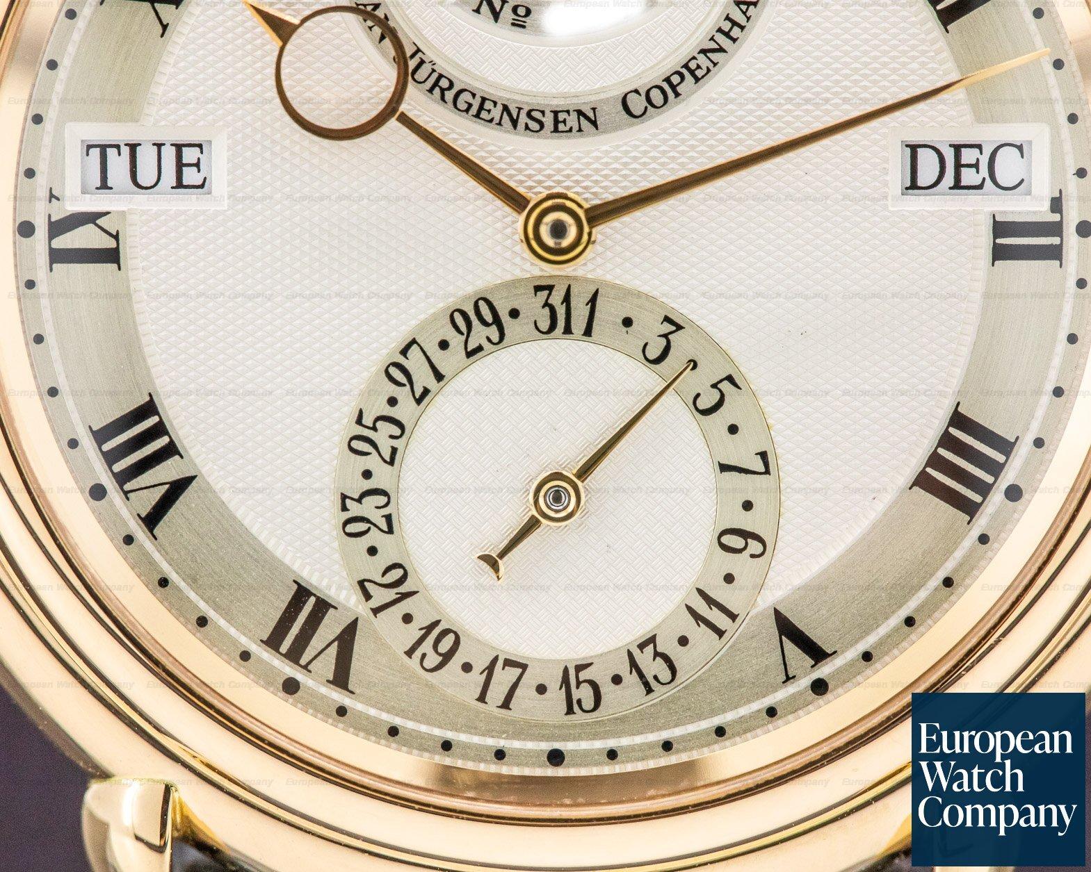 Urban Jurgensen Reference 2 Reference 2 Perpetual Calendar 18k Rose Gold LIMITED