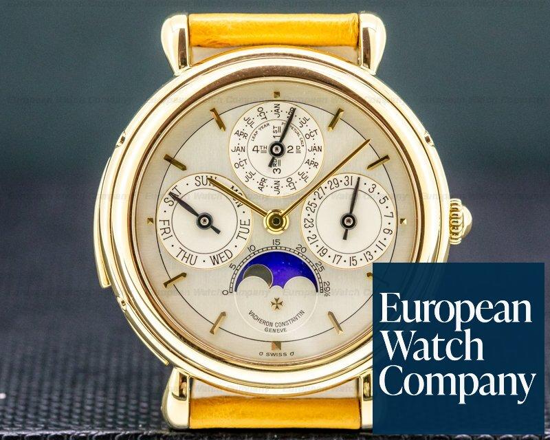 Vacheron Constantin 30020 Patrimony 30020 Minute Repeater Perpetual Calendar Yellow Gold 37MM