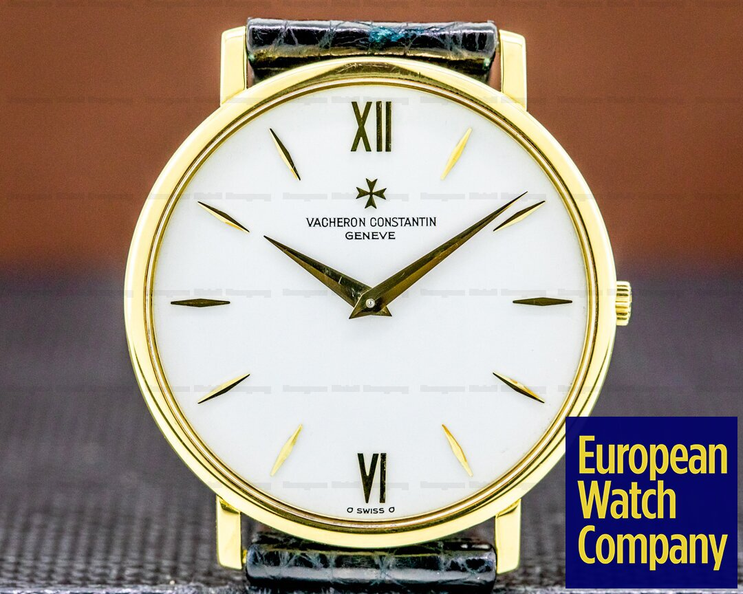 Vacheron Constantin 33060/000J Patrimony 33060 Extra Thin Yellow Gold Manual Wind