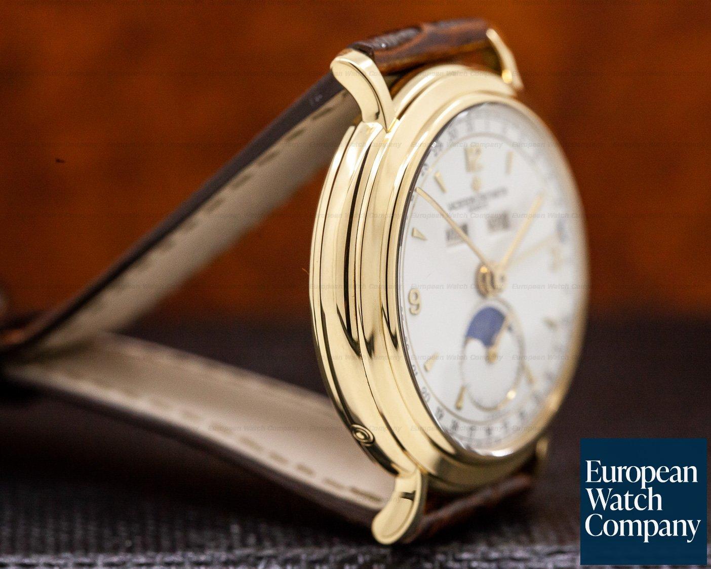 Vacheron Constantin 37150 Triple Date Moon 18K Yellow Gold / Manual Wind