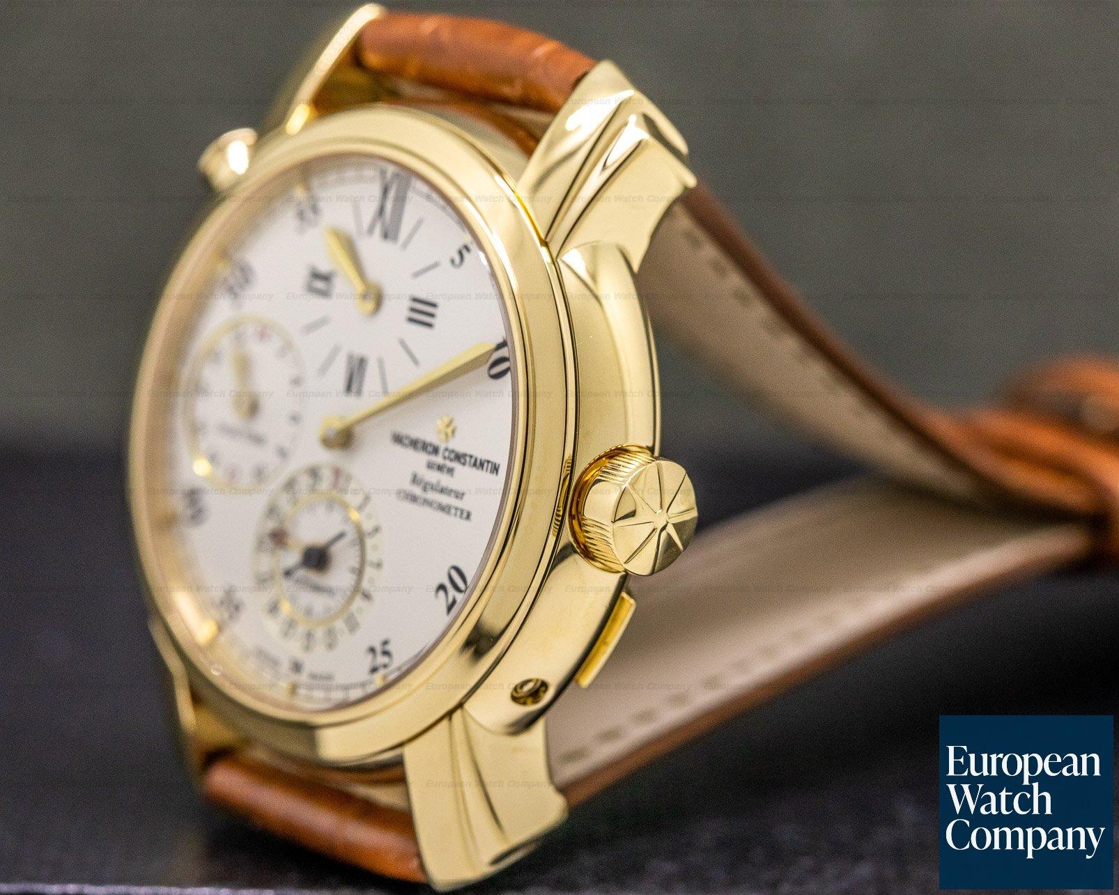 Vacheron Constantin 42005/000J Malte Dual Time Regulator 18K Yellow Gold