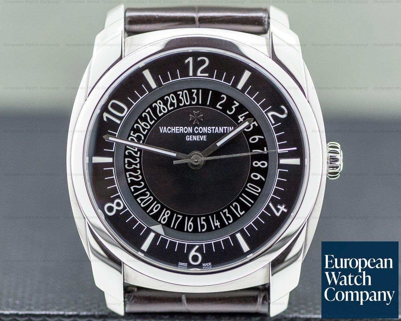 Vacheron Constantin 4500S/000A-B196 Quai de L'ile Automatic SS Black Dial