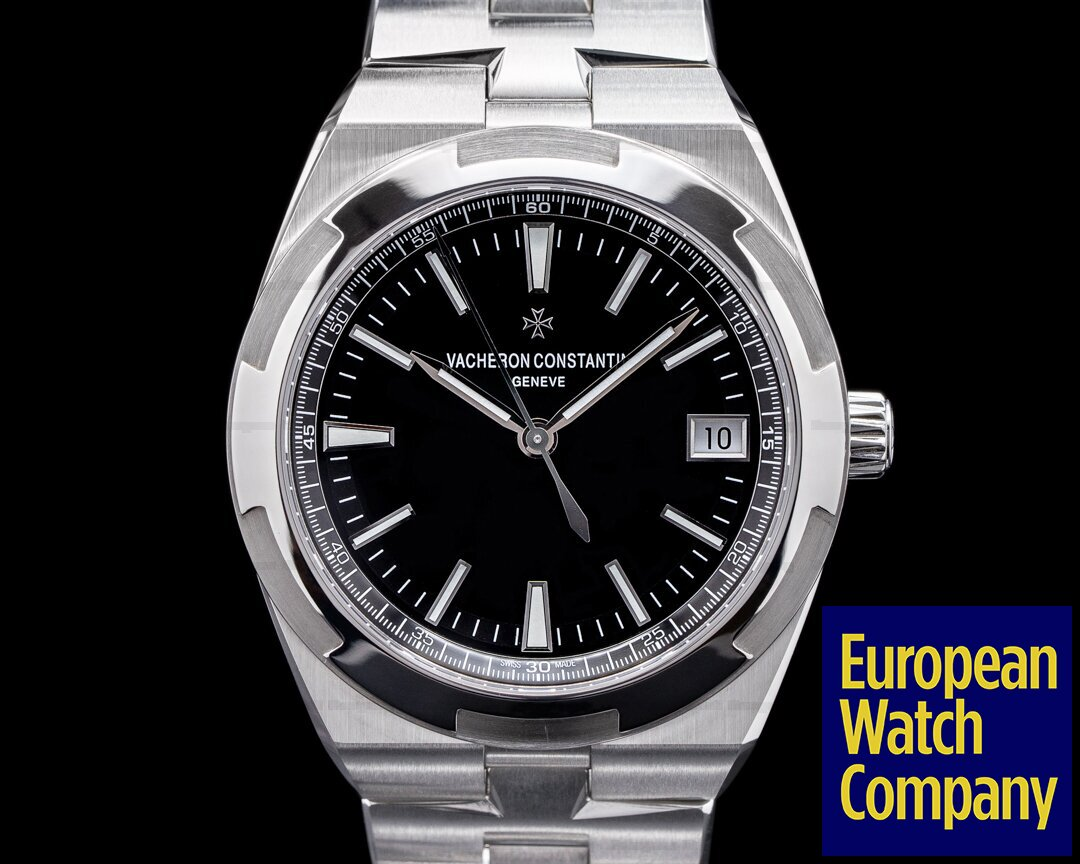 Vacheron Constantin 4500V/110A-B483 Overseas 4500V Automatic 41mm Black Dial SS 2021