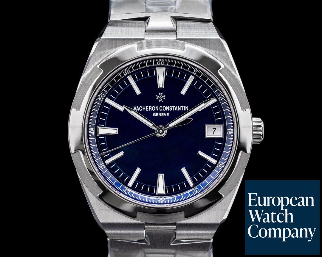 Vacheron Constantin 4500v/110A-B128 Overseas 4500v Automatic 41mm Blue Dial SS UNWORN 2021