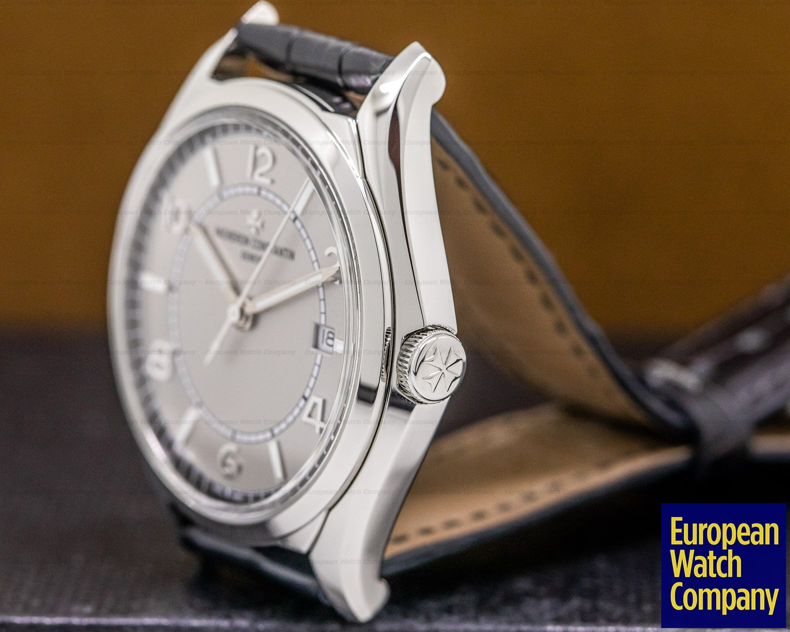 Vacheron Constantin 4600E/000A-B442 Fiftysix Self-Winding SS Silver