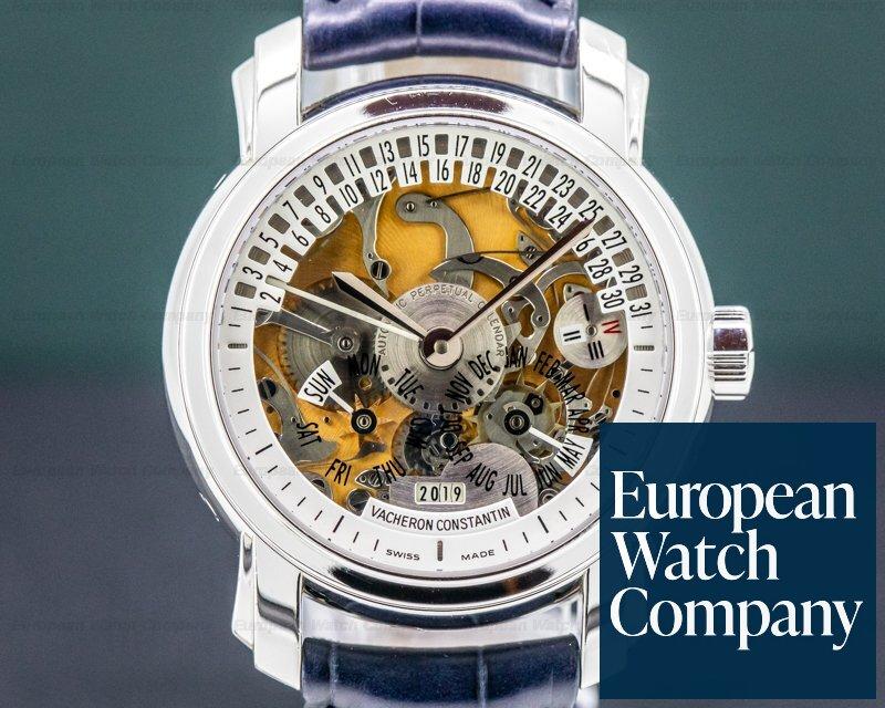 Vacheron Constantin 47032/00P-9206 Malte 31 Day Retrograde Perpetual Calendar Platinum RARE