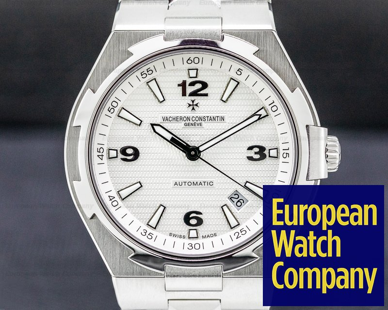 Vacheron Constantin 47040/B01A Overseas Large Automatic White Dial SS / SS