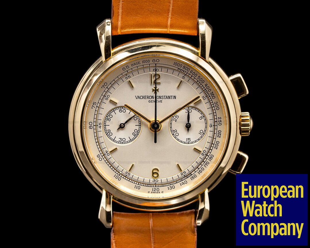 Vacheron Constantin 47101/1-47111 Les Historiques 47101 Chronograph 18K Yellow Gold FULL SET