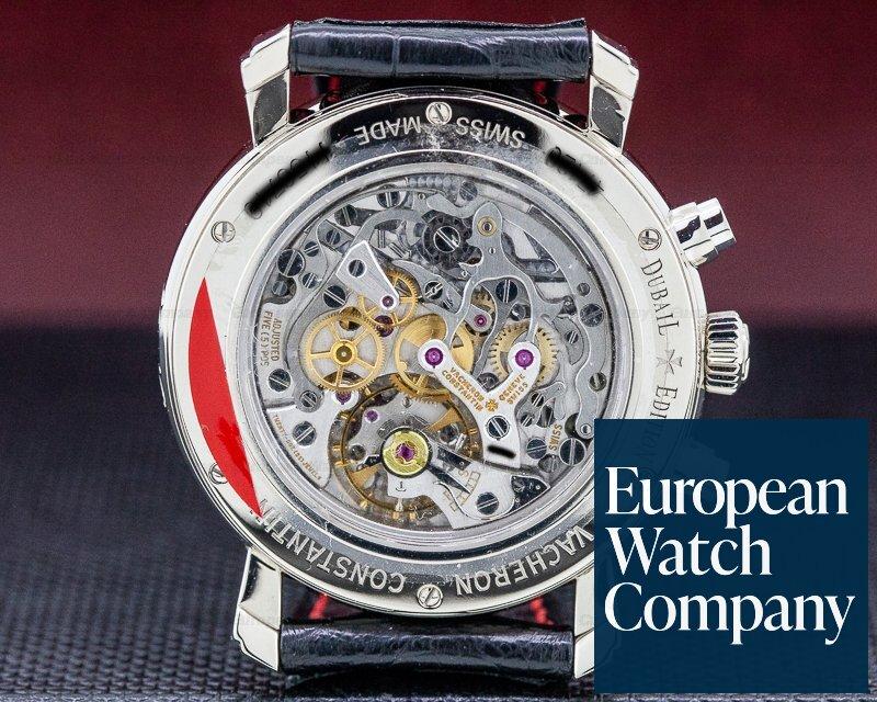Vacheron Constantin 47120/000G-9391 Malte Chronograph 18K White Gold Dubail Edition LIMITED