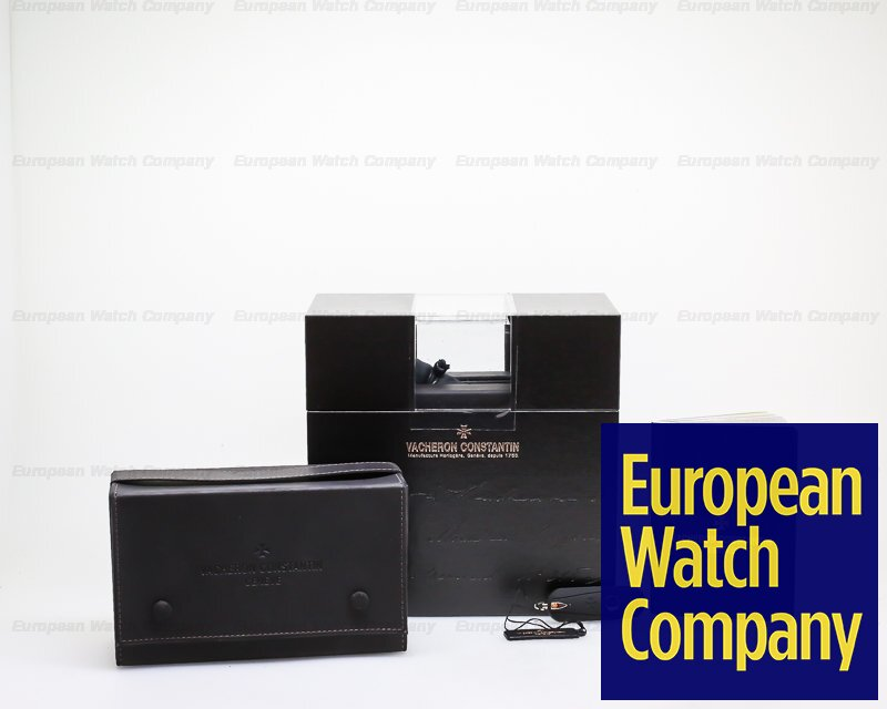 Vacheron Constantin 47192/000g-9504 Patrimony Traditionnelle Chronograph 18K White Gold