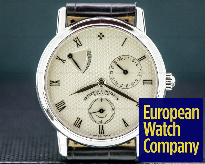 Vacheron Constantin 47200/1 Patrimony Power Reserve 18k White Gold