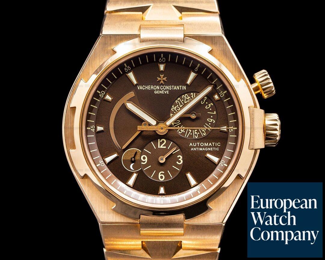 Vacheron Constantin Overseas 47450/B01R Dual Time Rose Gold Limited to 250 UNWORN Ref. 47450/B01R
