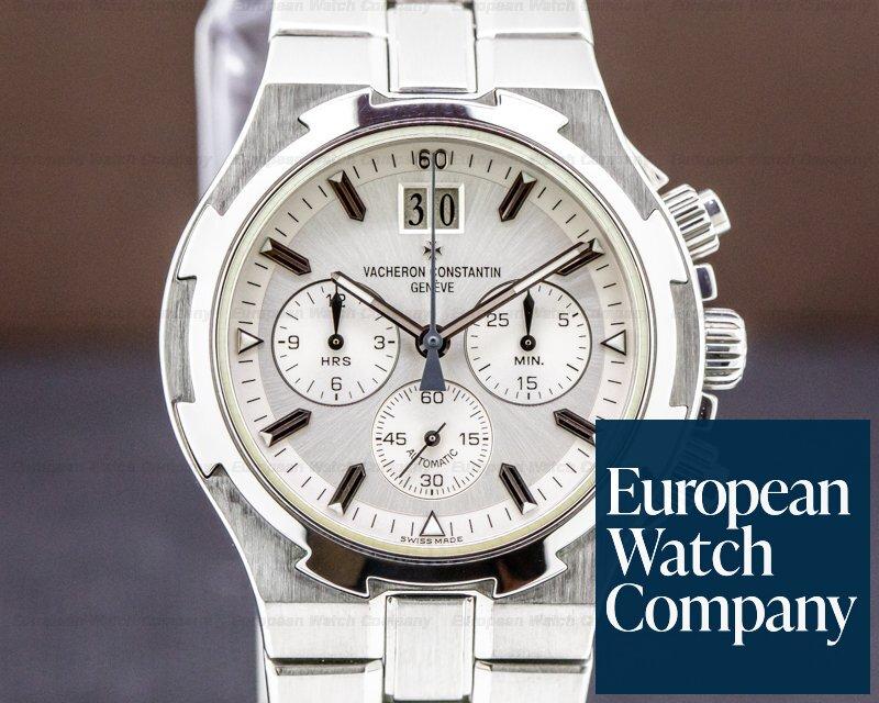 Vacheron Constantin 49140/423A-8790 Overseas Chronograph SS White Dial