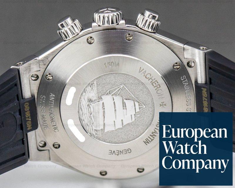 Vacheron Constantin 49150/000A-9017 Overseas Chronograph SS Silver Dial / Rubber LIMITED