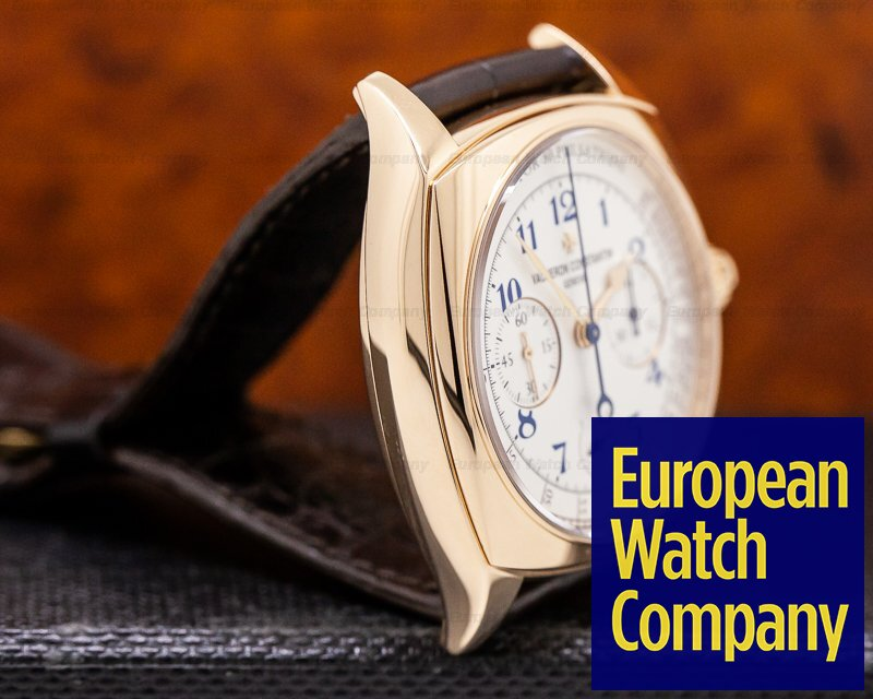 Vacheron Constantin 5300s/000r-b055 Harmony Dual Time 18K Rose Gold 2015 LIMITED EDITION