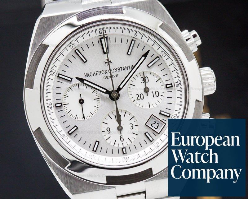 Vacheron Constantin 5500V/110A-B075 Overseas Chronograph Silver Dial SS / SS