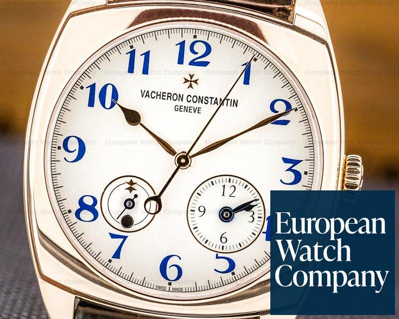 Vacheron Constantin 7810S/000R-B051 Harmony Dual Time 18K Rose Gold Anniversary