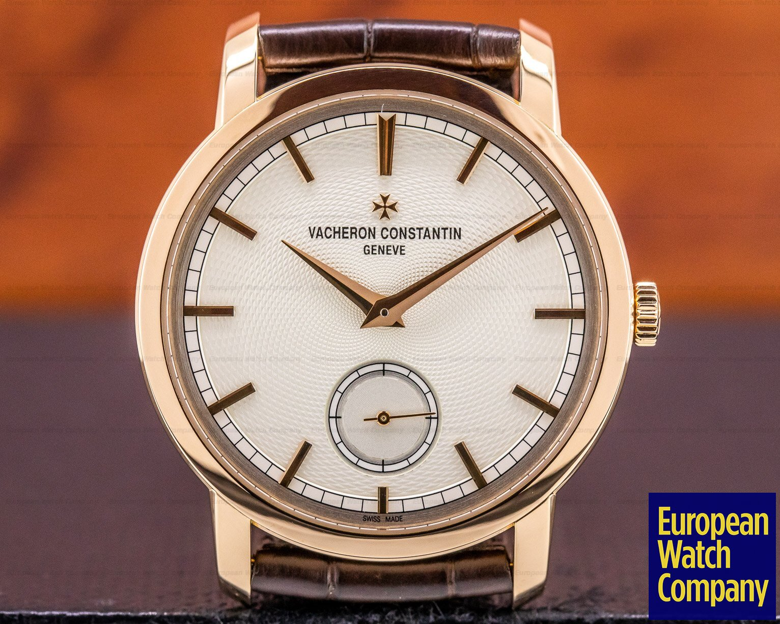 Vacheron Constantin 82172/000R-9888 Patrimony Traditionnelle 18K Rose Gold BOUTIQUE