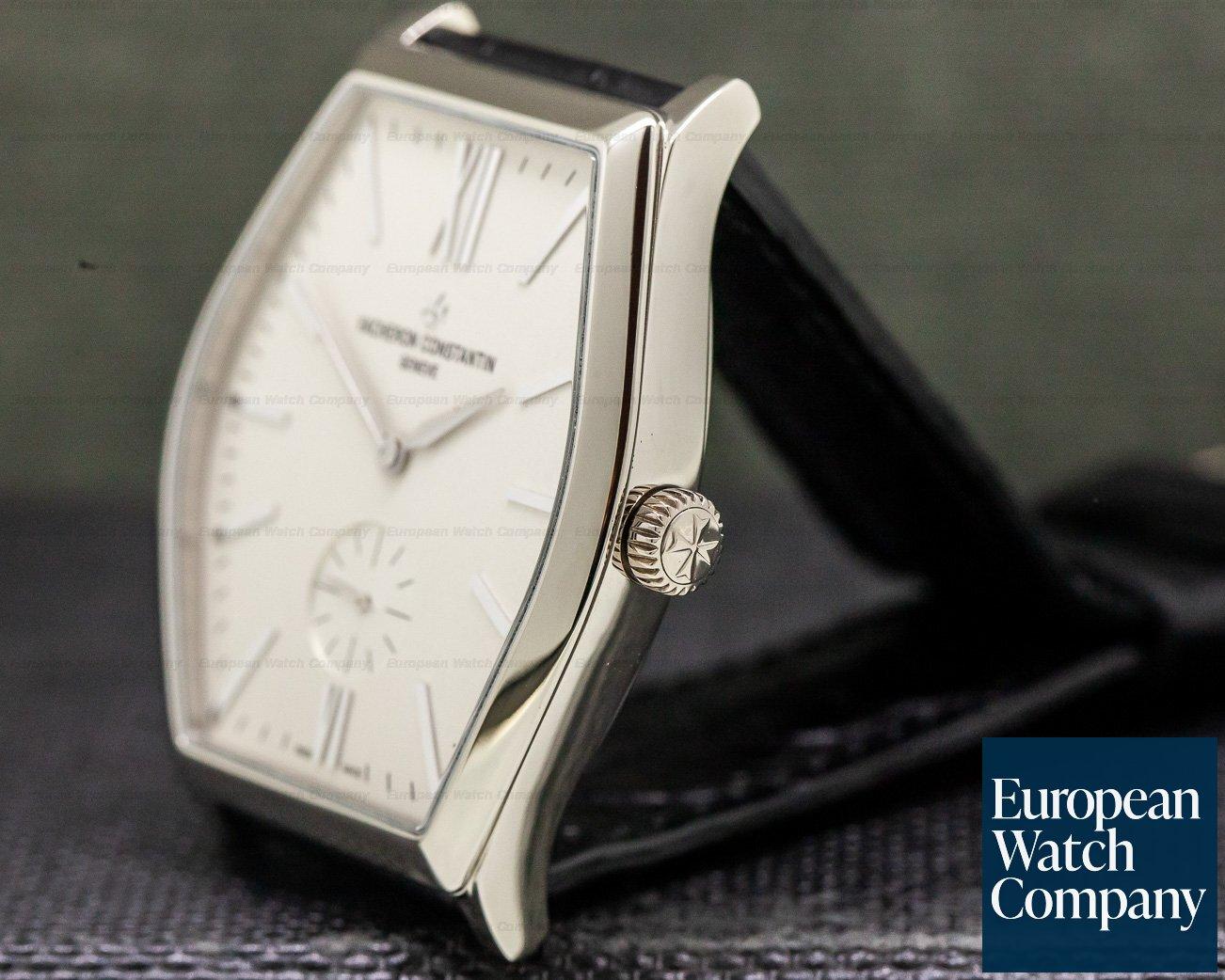 Vacheron Constantin 82230/000g-9962 Malte Small Seconds Manual Silver Dial 18K White Gold