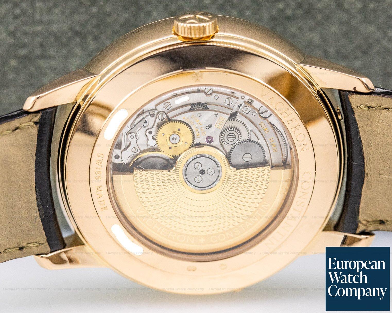 Vacheron Constantin 86020/000r-9239 Patrimony Bi Retrograde Day & Date 18K Rose Gold