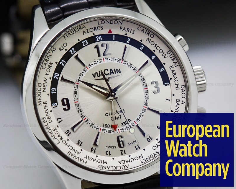 Vulcain 100108.027 Cricket Aviator GMT SS
