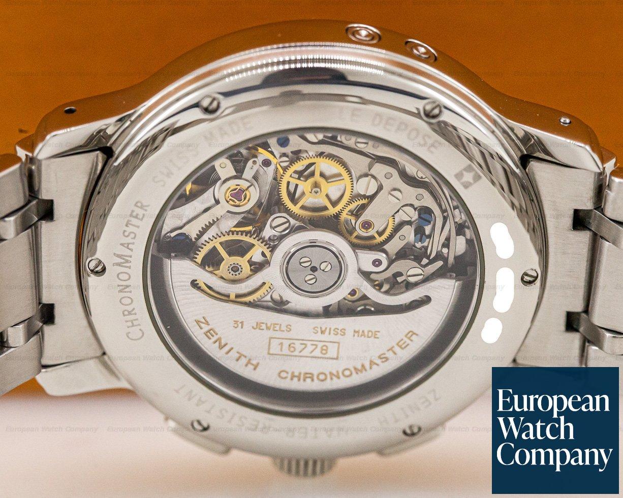 Zenith 02.0240.410 Chronomaster T El Primero Moon Black Dial SS
