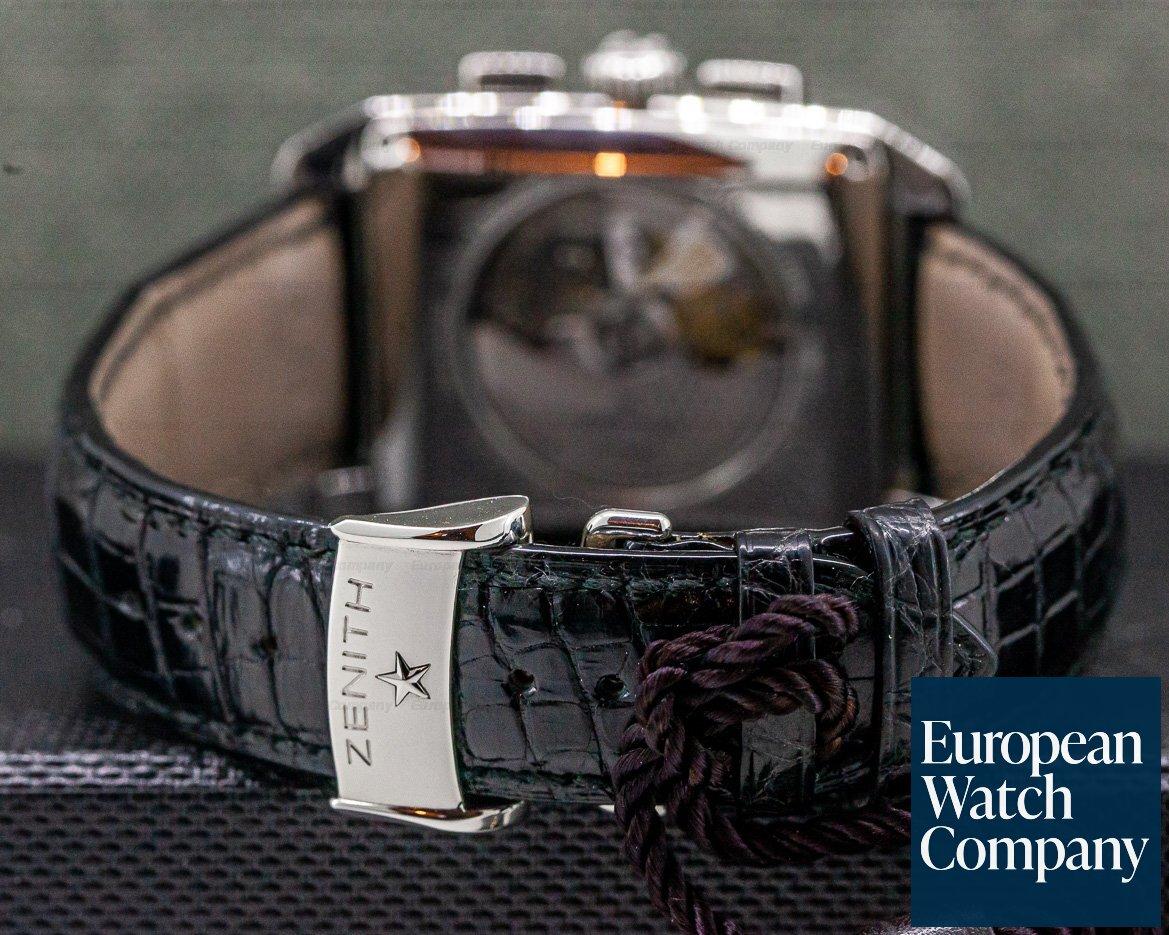Zenith 03.0550.400/02.C507 Grande Port Royal El Primero SS Silver Dial