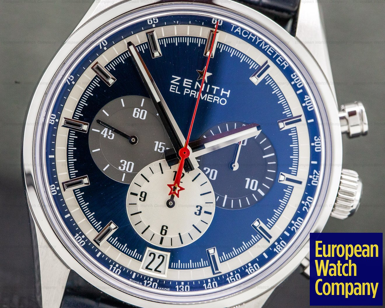 Zenith 03.2040.400/53.C700 Chronomaster El Primero Blue Dial