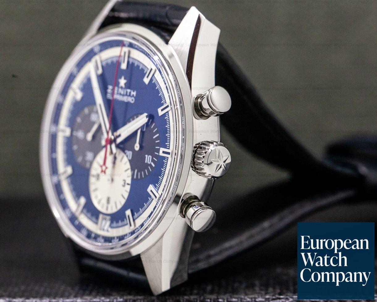31438) Zenith 03 2040 400/53 C700 Chronomaster El Primero Blue Dial