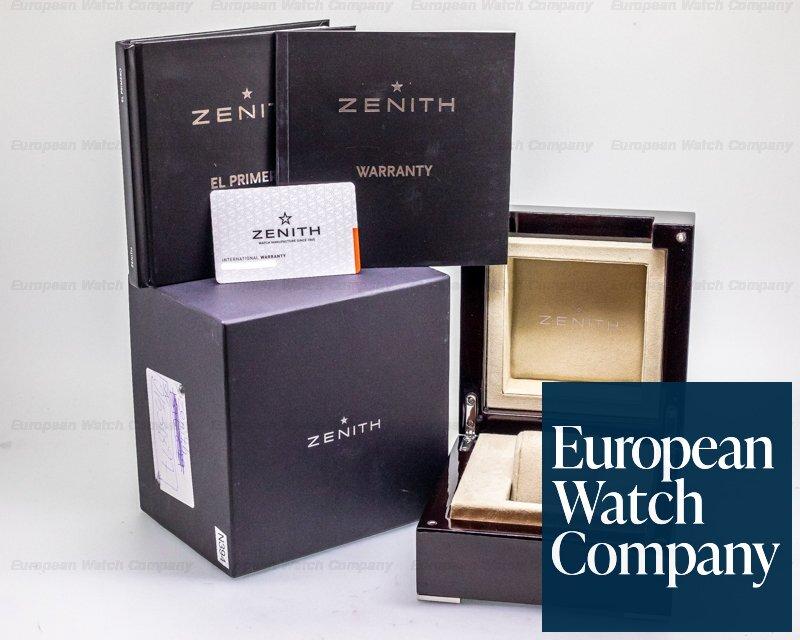 Zenith 03.2040.4061/152.c700 El Primero Blue Chronomaster 1969 SS / Leather