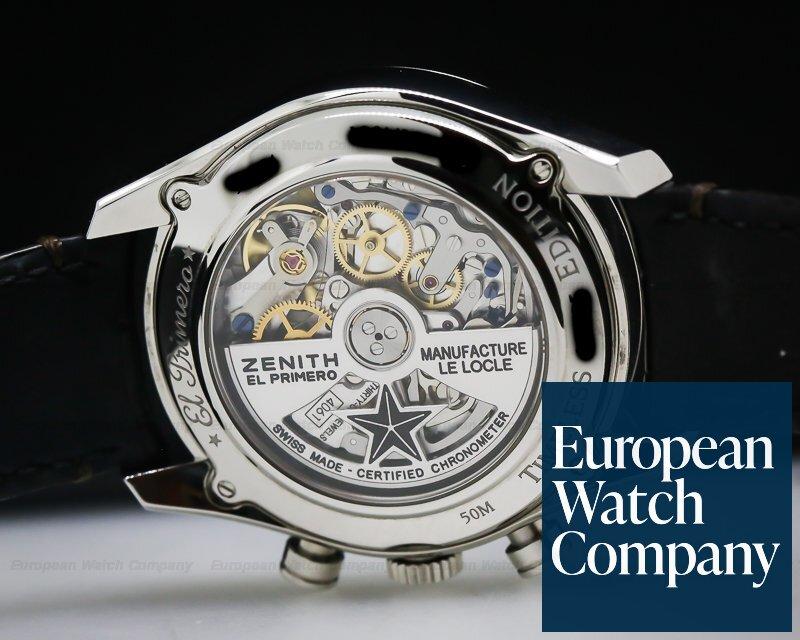 "Zenith 03.2151.4061/13.C713 Chronomaster Heritage El Primero Limited Edition ""Timeless Luxury """