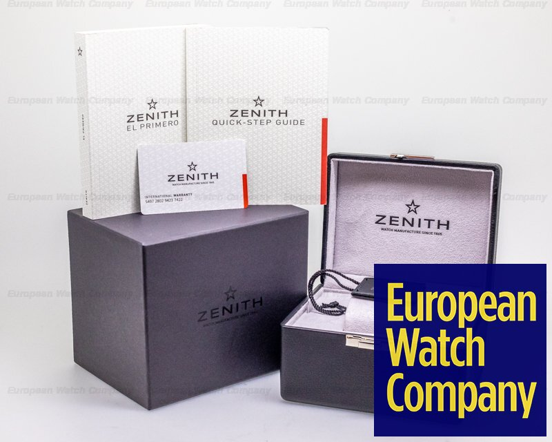 Zenith 03.2282.400/91.R578 Chronomaster El Primero Sport Limited Land Rover BAR Team Edition