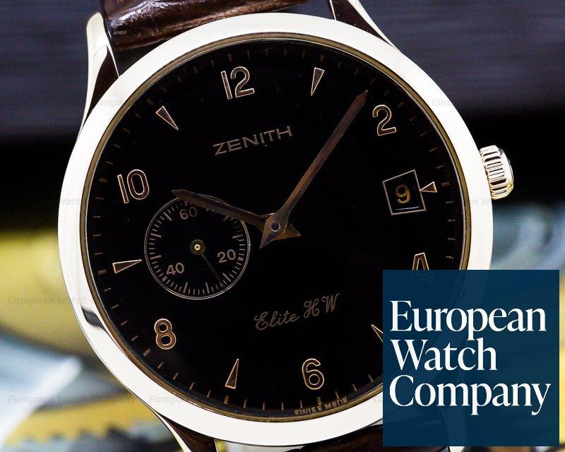 Zenith 17.0125.650 Class Elite Automatic 18K Rose Gold 37MM
