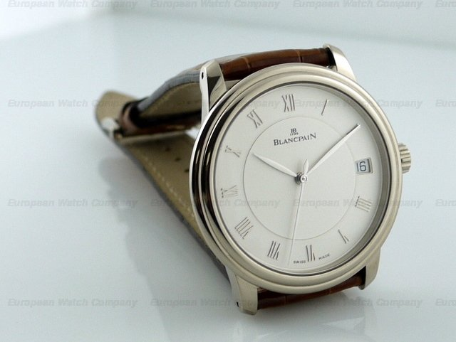 watch for iphone european company blancpain jubilee 18k wg ltd 13277