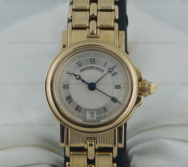 Breguet Ladies Marine 18K Yellow Gold / Yellow Gold 26MMRef. No. 8400BA/12/A40