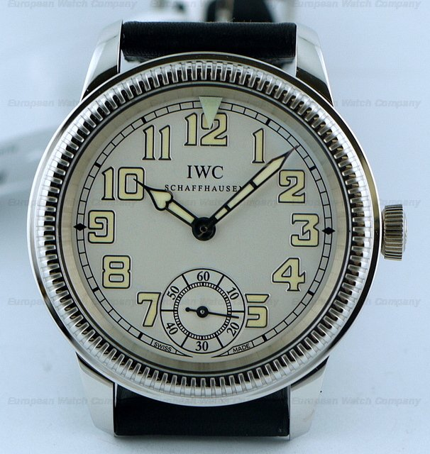 IWC Pilots Watch Vintage Collection Platinum NEWRef. No. IW325405