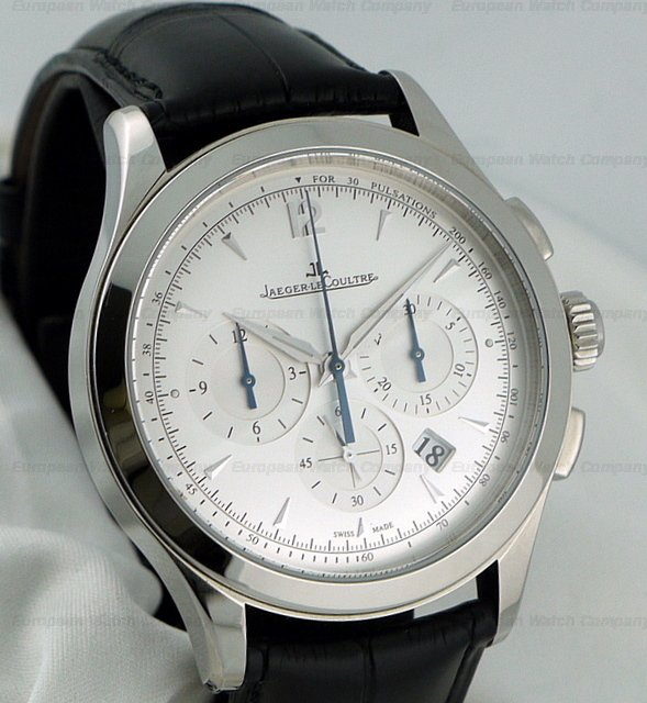 European watch company jaeger lecoultre master control chronograph steel for Chronograph master