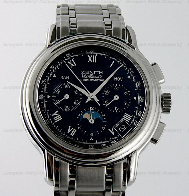 Zenith Chronomaster Moon Black