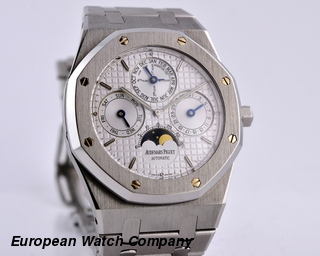Audemars Piguet Royal Oak Quantime Perpetual Calendar SS / SS 39MM