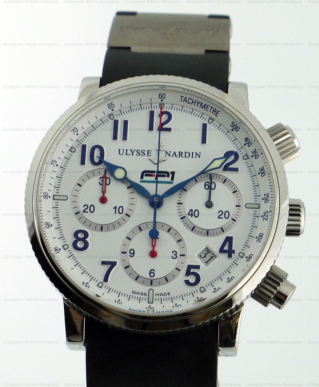 european company ulysse nardin marine chronograph ss