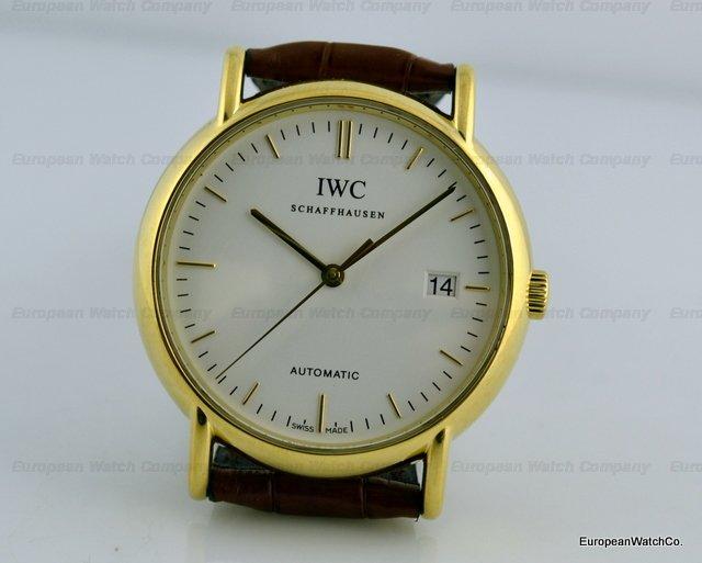 Iwc Portofino 18k Yellow Gold Automatic