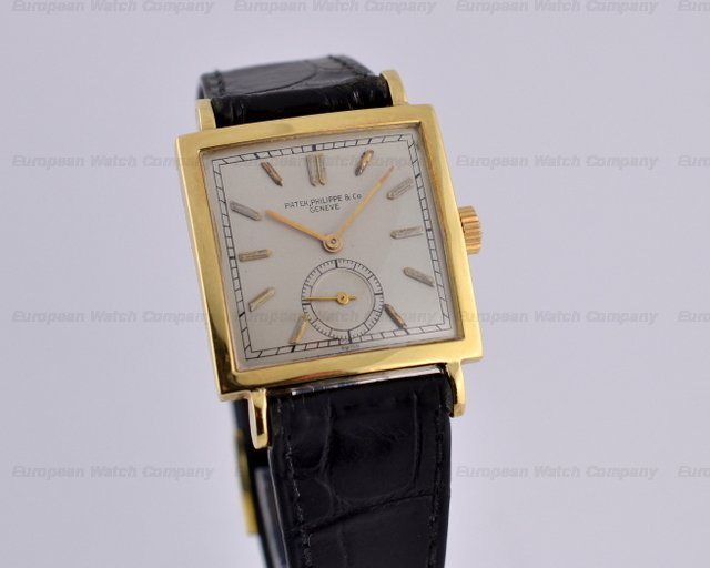 Patek Philippe Vintage Square 18K Yellow Gold Circa 1945Ref. No. 1431