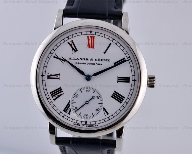 European Watch Company A Lange And Sohne Anniversary