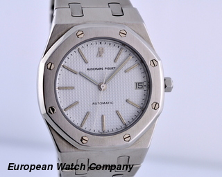 Audemars Piguet Royal Oak SS / SS White Dial 36MM