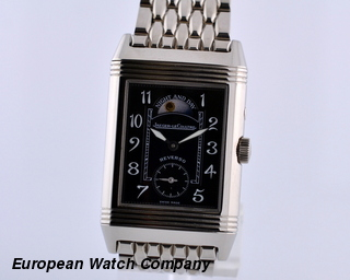 Jaeger LeCoultre Reverso Duo Night & Day 18K WG /WG