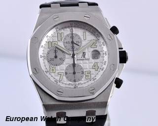 Audemars Piguet Royal Oak Offshore Silver Themes SS 44MM