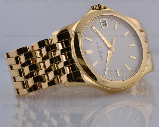 Patek Philippe Calatrava Gold Bracelet