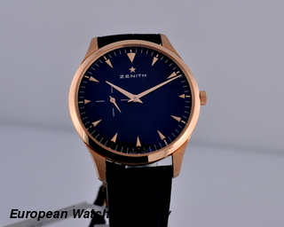 Zenith Heritage Ultra Thin Black Dial