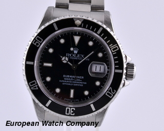 Rolex Submariner SS Black Dial